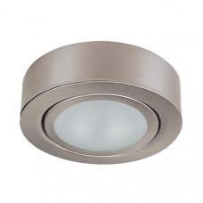 003355 Светильник MOBILED LED COB 3.5W 270LM 90G НИКЕЛЬ 3000K (в комплекте)