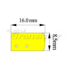 Гибкий неон ARL-CF2835-Mini-24V Green (16x8mm)