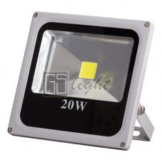 Светодиодный прожектор SLIM 20W 220V IP65 White