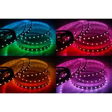 Открытая светодиодная лента SMD 5050 60LED/m IP33 12V RGB
